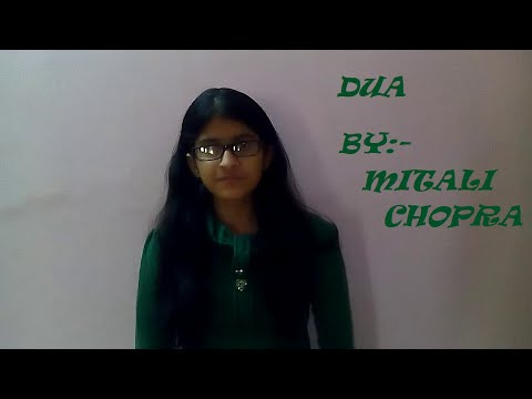 Dua (shanghai) female cover by Mitali Chopra