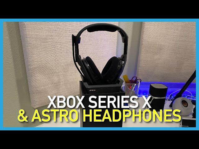 Xbox Series X and Astro Headphones