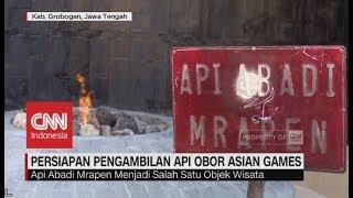 Persiapan Pengambilan Api Obor Asian Games