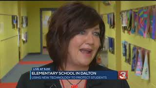 Roan School in Dalton pilots new system for lockdown threats using teacher ID badges