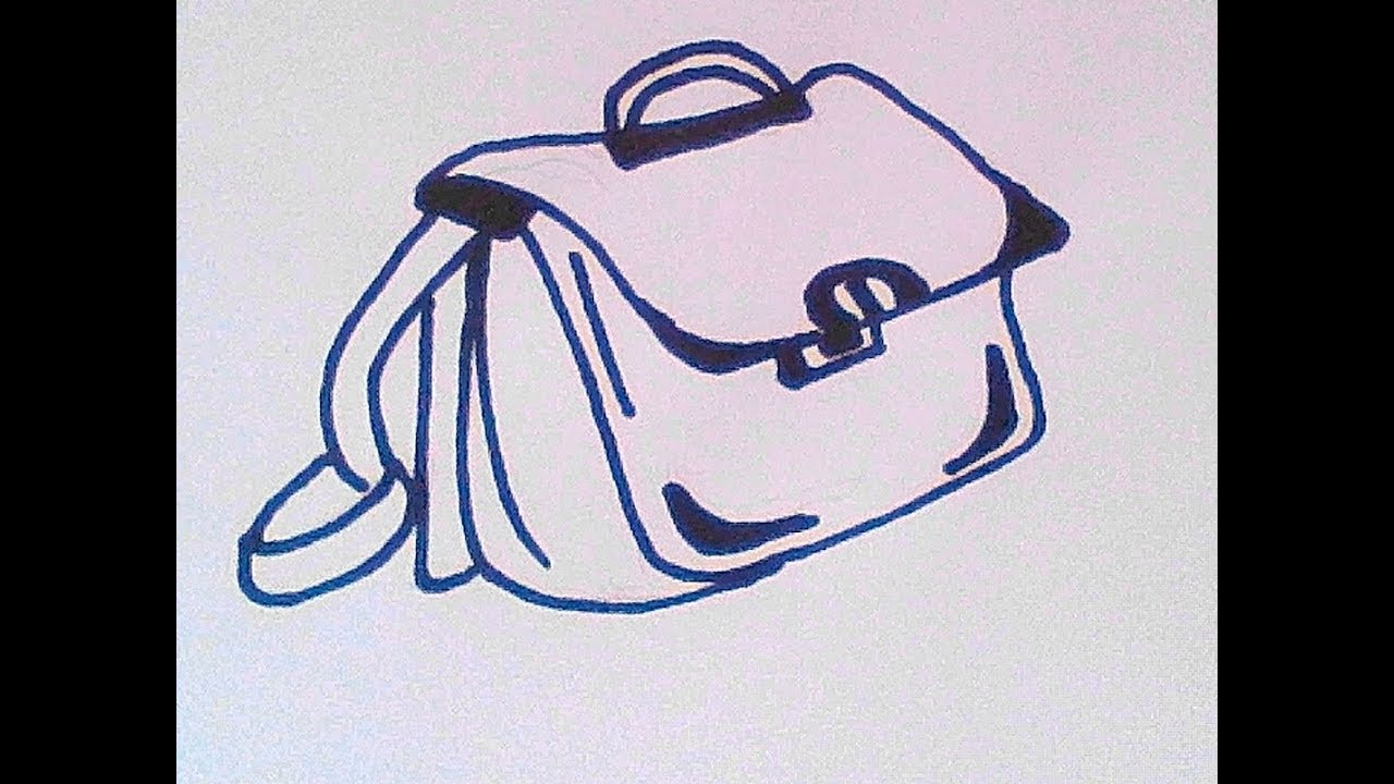 6b53e0fbcbaf Как нарисовать сумку - How to draw a bag - 如何画袋 Как нарисовать милые рисунки
