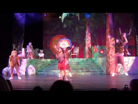 The Jungle Book - Performance by Varshitha as the Bush - Show 1