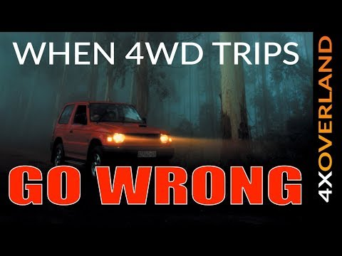 TAGALONG TROUBLE | WHEN 4WD TRIPS GO WRONG | Andrew St.Pierre White 4xOverland