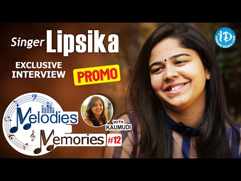Singer Lipsika Exclusive Interview PROMO || Melodies And Memories #12