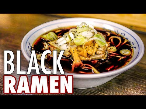 What Does Japanese Black Ramen Taste Like?