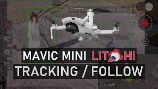 Mavic Mini - Active Track & Follow Me Modes (iOS Litchi Beta) | DansTube.TV
