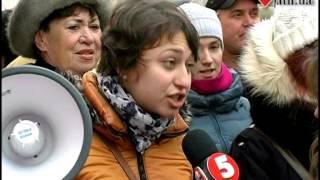 10.02.14 - Харьковские евромайдановцы пикетировали