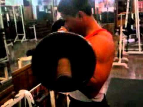 mr india work out in marine center gym..