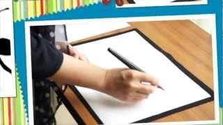 自宅で学べる筆文字アート講座 あなたの文字が筆アートに生まれ変わる thumbnail