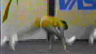 Repeat youtube video Campeonato Aerobica Brasil 92 Trio Olga,Helena,Luciana