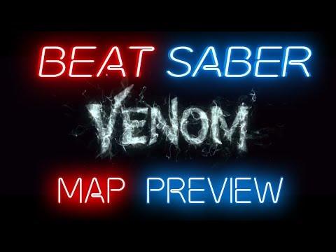 Beat Saber | Eminem - Venom [Map Preview] (Expert+)
