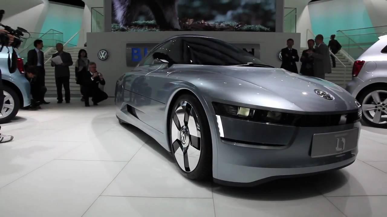 The Volkswagen L1 Concept - YouTube