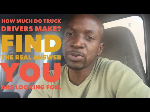 Trucking How Much Do Truck Drivers Make Find The Real Answer You Are Lo Ng For