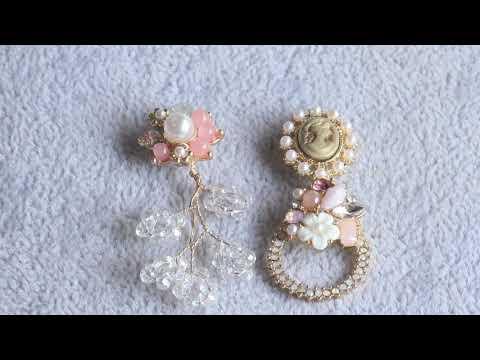 GUFEATHER,jewelry accessories,jewelry findings,accessory parts,diy earrings,handmade,stud earrings