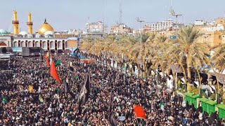 Drone view of KARBALA