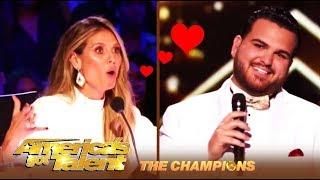 Sal Valentinetti & Heidi Klum: A LOVE Fest! | America's Got Talent: Champions