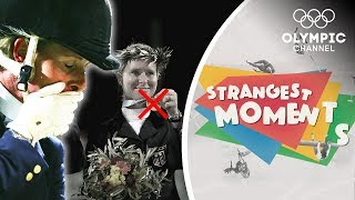 The moment when Bettina Hoy lost 2 gold medals in Show Jumping | Strangest Moments