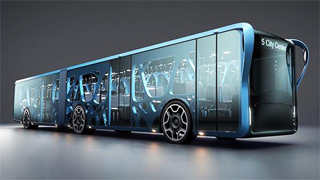 تعرف على تكنولوجيا الباصات الحديثة في المانيا من شركة مرسيدس