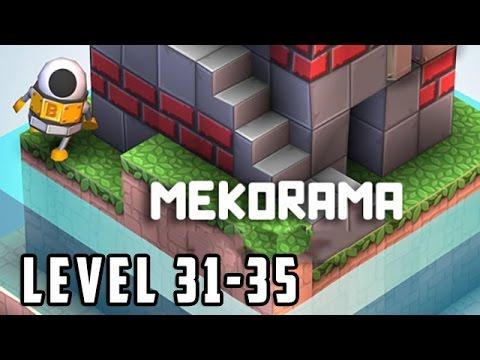 Mekorama Level 31, 32, 33, 34, 35 Walkthrough Gameplay [HD]