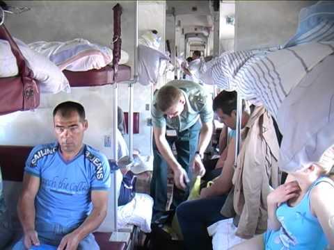 Досмотр поезда в Брянске