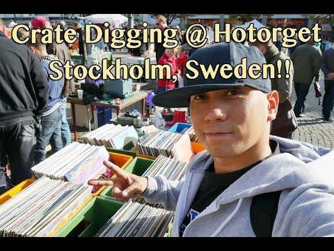 Crate Digging In Stockholm - Hotorget