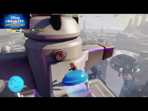 Disney Infinity 3.0 - Star wars Twilight of The Republic free roam #3