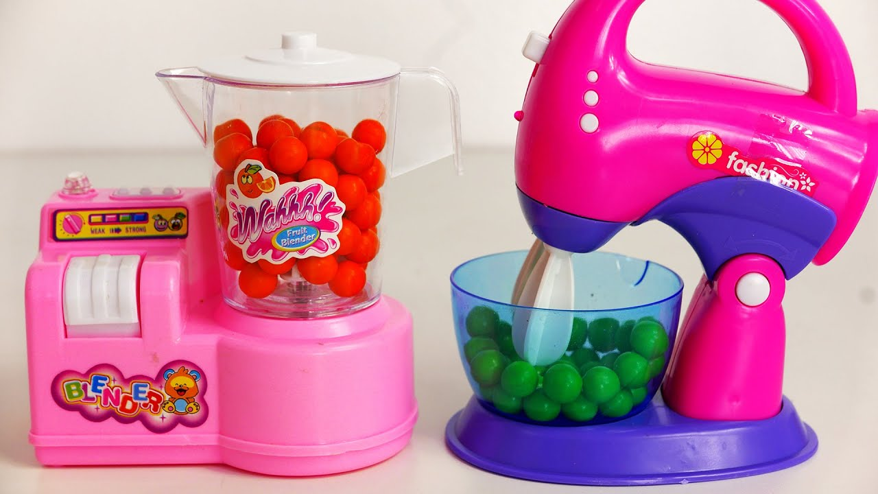 kitchen and mixer sink faucet sets toy appliances for kids blender youtube