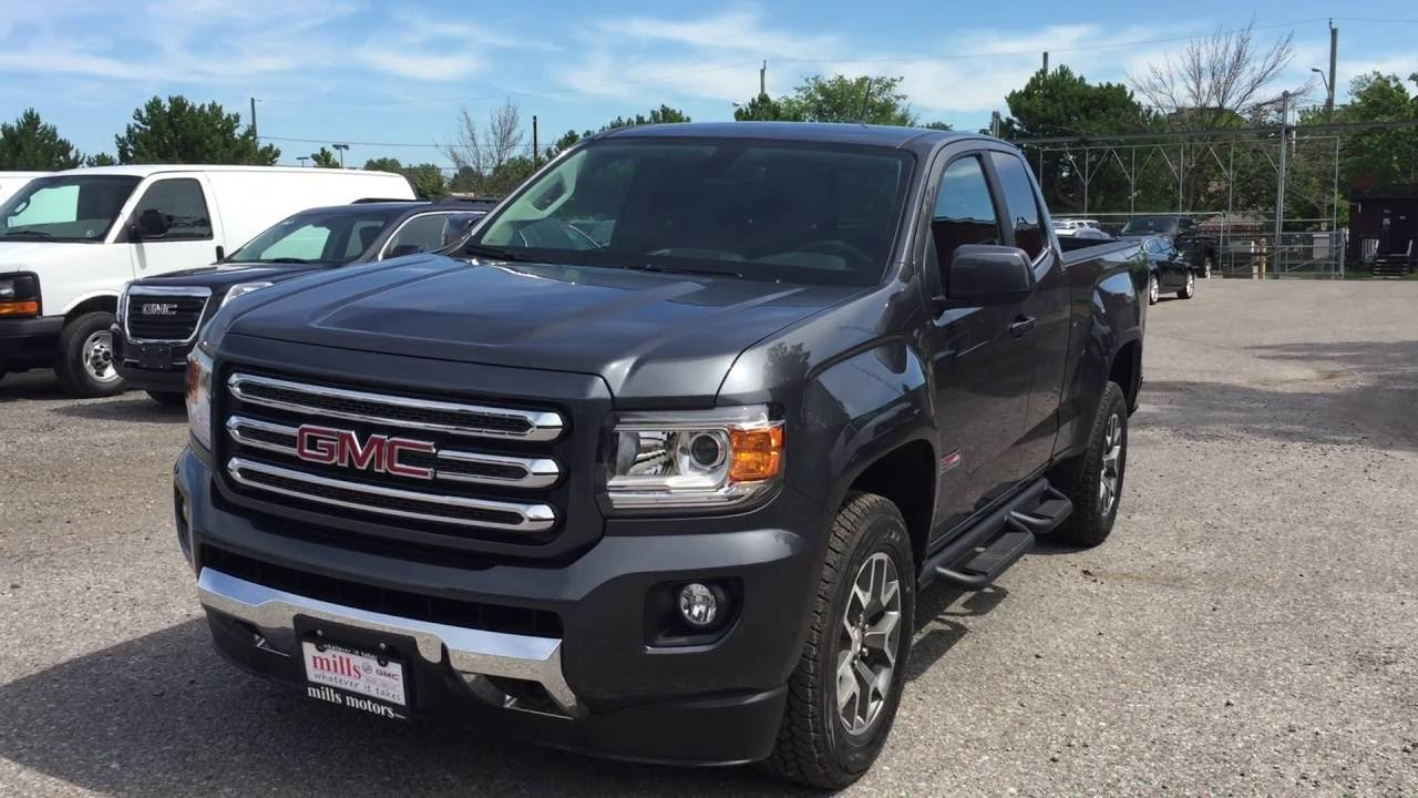 2016 gmc canyon sle 4wd extended cab all terrain heated. Black Bedroom Furniture Sets. Home Design Ideas
