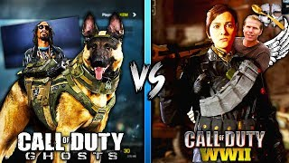 CoD Ghosts is BETTER than CoD WW2?
