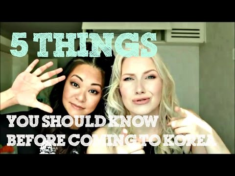 5 Things you should know before coming to Korea!!!