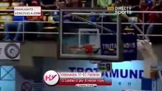 Highlights LPB 20/03 Trotamundos de Carabobo vs Panteras de Miranda