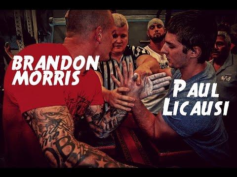 Brandon Morris vs Paul Licausi