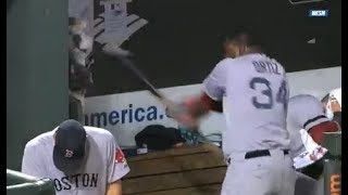 MLB Ejected For Abusing Equipment