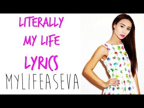 Literally My Life | LYRICS  - Eva Gutowski | MYLIFEASEVA