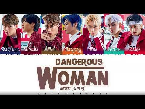 SuperM - 'DANGEROUS WOMAN' Lyrics [Color Coded_Han_Rom_Eng] indir