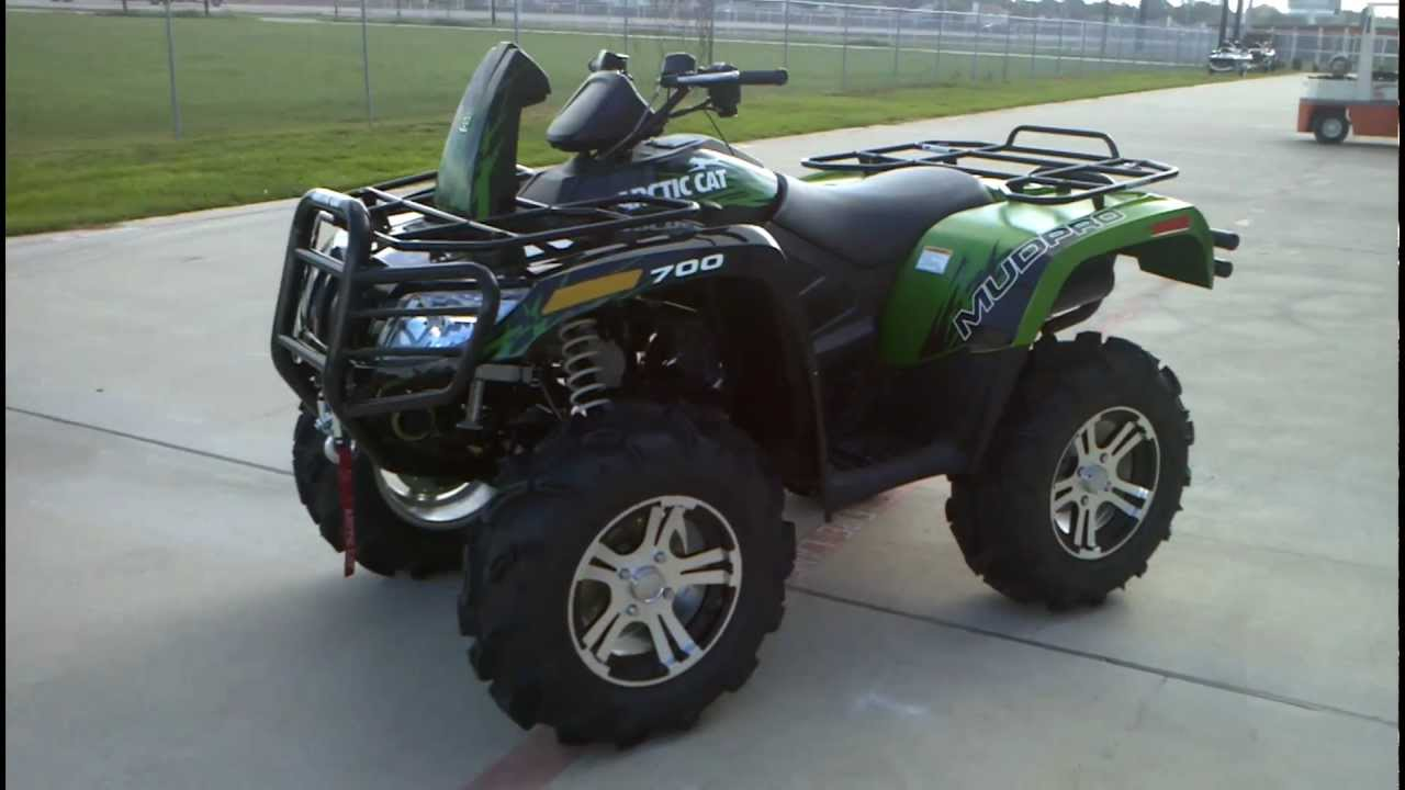 Overview And Review  2012 Arctic Cat Mud Pro 700 I Ltd
