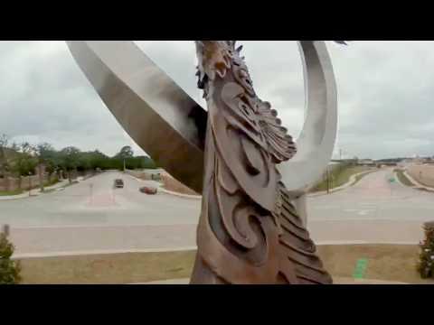 Flying Together Sculpture, Dream Big Sculpture