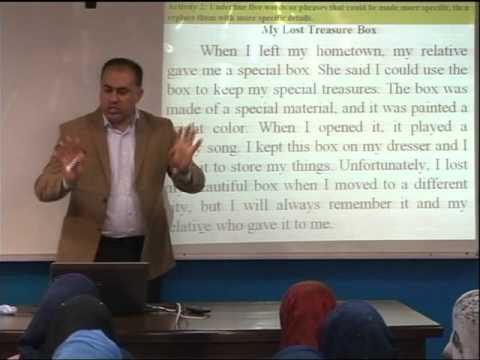Lecture 14: Descriptive  paragraph