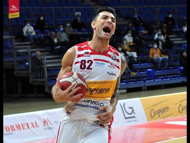 [FullMatch] Carpegna Prosciutto Basket Pesaro - Dolomiti Energia Trentino: 57-71