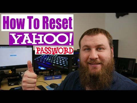 How To Reset Your Yahoo Email Password