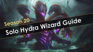 Diablo 3 Season 20 Solo Hydra Wizard Build Guide