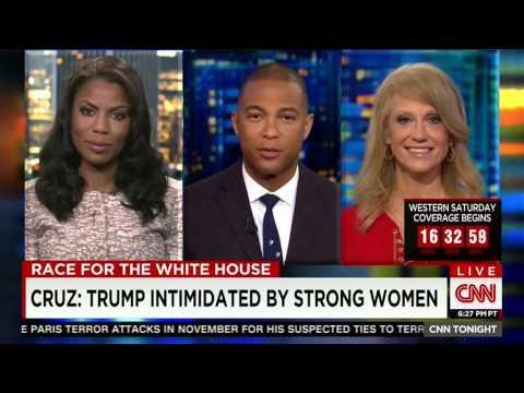 Don Lemon v Omarosa CNN 03-25-2016