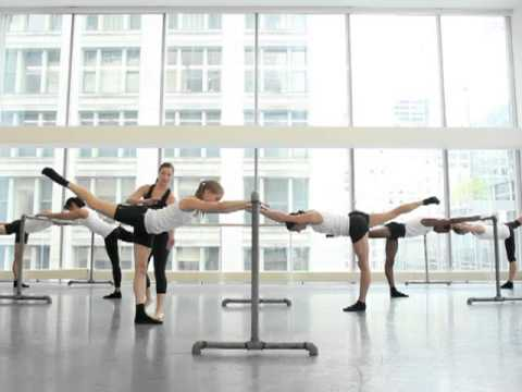 Advanced Ultra Barre Class Demo with Joffrey Ballet Dancers