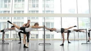 Advanced Ultra Barre Class Demo with Joffrey Ballet Dancers