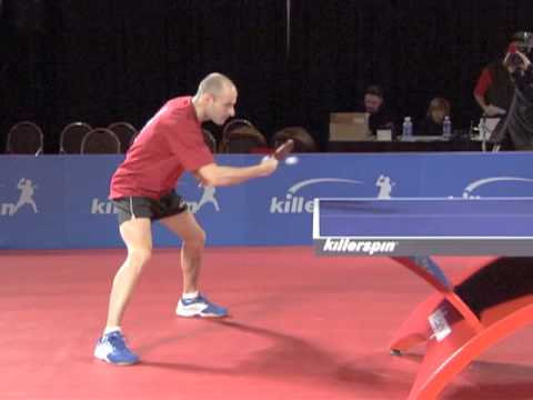How To Backhand Block In Table Tennis Killerspin Youtube
