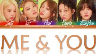EXID - Me & You [ Color Coded Rom/Eng/Albanian Lyrics ]