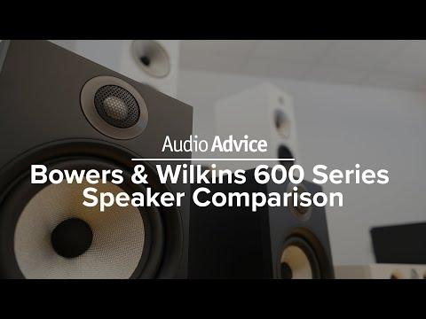 Bowers & Wilkins 600 Series Speaker Comparison