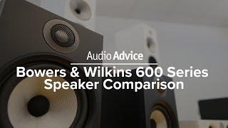 Gambar cover Bowers & Wilkins 600 Series Speaker Comparison