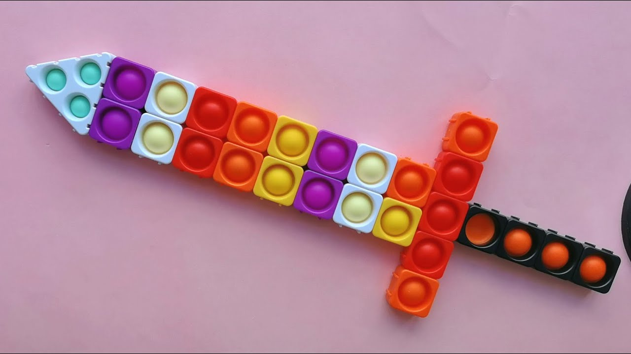 Download Sword Pop It Fidget Toy - Pop It Jigsaw Puzzles #01