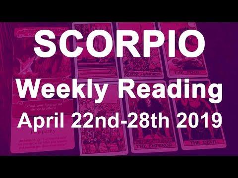 scorpio weekly tarot reading